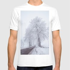 Heading north Mens Fitted Tee MEDIUM White