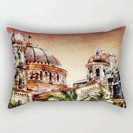 Thessaloniki Town Rectangular Pillow