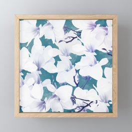 Magnolia 2 Framed Mini Art Print