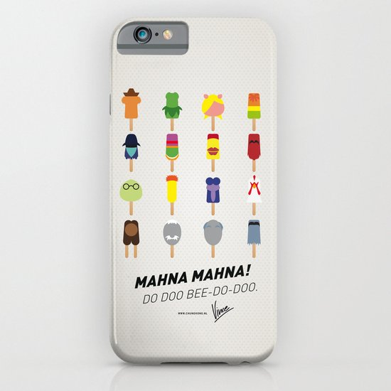 My MINIMAL ICE POPS univers III iPhone & iPod Case