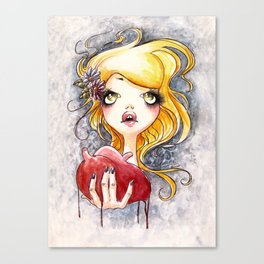Ripped Heart Canvas Print