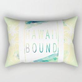 Hawaii Bound Rectangular Pillow