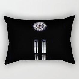 clock,time,hours Rectangular Pillow