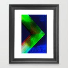 Dolda Framed Art Print