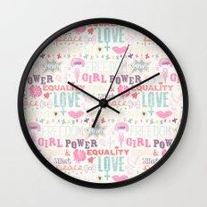 Be a girl !  Wall Clock