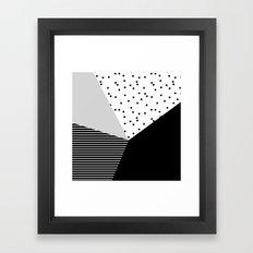 Geometry Blocks 10 Framed Art Print