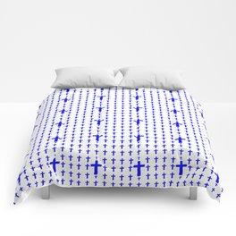 Christian Cross 15 Comforters