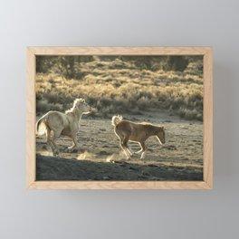 Kicking Up Dust, No. 1 Framed Mini Art Print