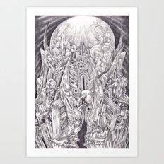 Plenilune Art Print