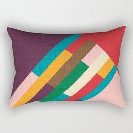 meridian purple Rectangular Pillow