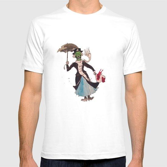 Zombie Mary Poppins T-shirt