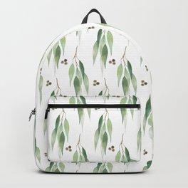 Eucalyptus Neck Gator Eucalyptus Leaves Backpack