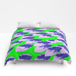 The Limeade Leaves Comforters