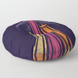 Retro-Galactic Floor Pillow