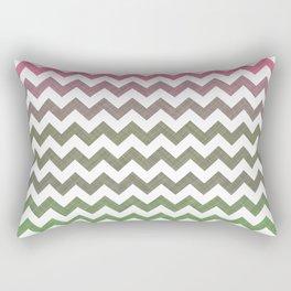 Pink Roses in Anzures 3 Chevron 2T Rectangular Pillow