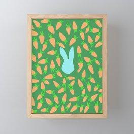 The feast #5 Framed Mini Art Print