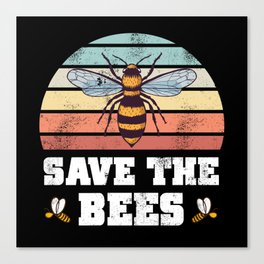 Beekeeping Save the Bees Beekeeper Gift Canvas Print