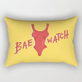 Bae-watch Rectangular Pillow