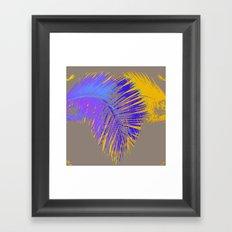 palm design ####### Framed Art Print