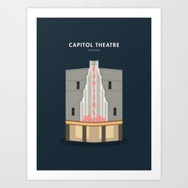 Capitol Theatre, Singapore [Building Singapore] Art Print
