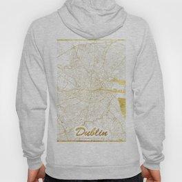 Dublin Map Gold Hoody
