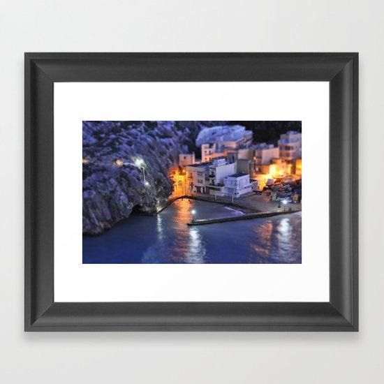 Pick a light Framed Art Print