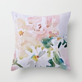 In Love With Spring  Throw Pillow