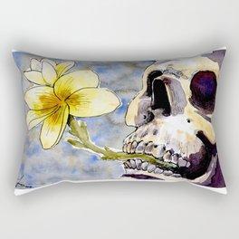 Life After Death - Yellow Flowers Rectangular Pillow