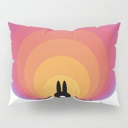 Bunny Rabbit Sunrise Pillow Sham