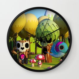 The TreeBorn Gang Wall Clock