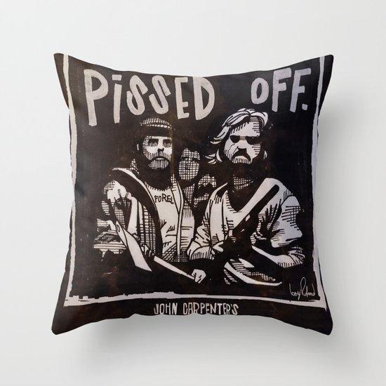 John Carpenter's The THING Throw Pillow