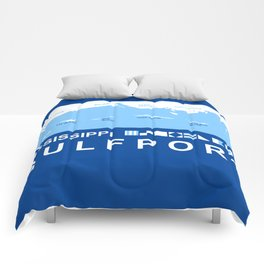 Gulfport Mississippi. Comforters