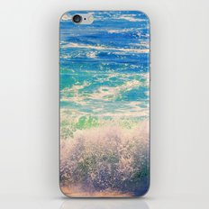 Aqua Mist iPhone & iPod Skin