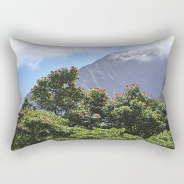 Hawaiian Tulip Trees Rectangular Pillow