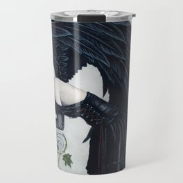 Despair Gothic Angel Travel Mug