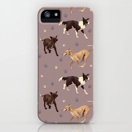 Rescue Dogs Pattern iPhone Case