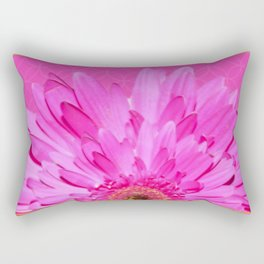 Pink Beach Flower | Floral | Flowers | Nadia Bonello Rectangular Pillow