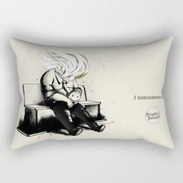 I misunderstood Rectangular Pillow