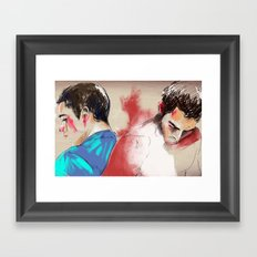 sterek Framed Art Print