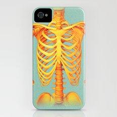 Skeleton iPhone (4, 4s) Slim Case