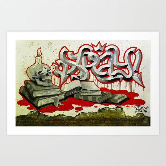 """XRAY's Ritual"" Art Print"