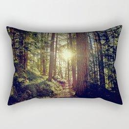 Hidden trail Rectangular Pillow