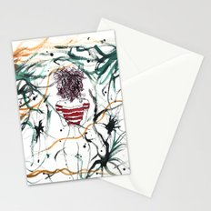 Chick With The Purple Hair Stationery Cards