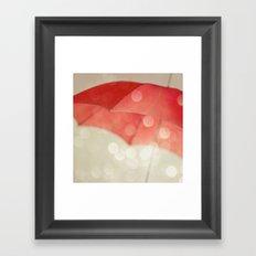 Whisked Away Framed Art Print