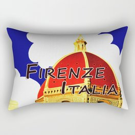 Firenze - Florence Italy Travel Rectangular Pillow