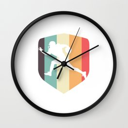 Vintage Retro Rugby Union Football Contact Team Sports Rugger Gift Wall Clock
