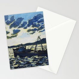 Fishing 1 Stationery Cards