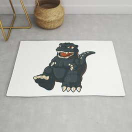 King of monsters Rug