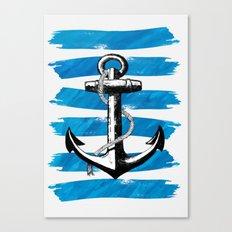 Anchor away Canvas Print