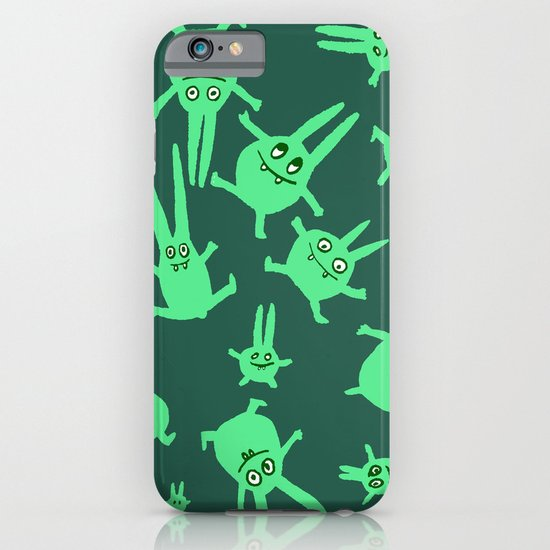 bunnies in weightlessness iPhone & iPod Case